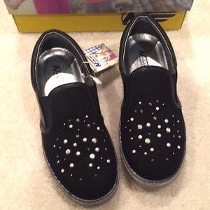 Naturino Express Perla girl's black sneakers
